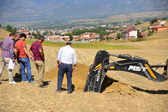 Erbaa'da TOKİ için Zemin Etüdü Yapıldı