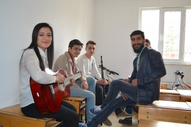 Erbaa'da Sahne Sırası Onlarda