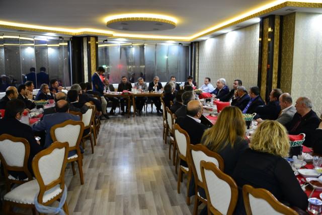 Erbaa'nın Geleceği Bu Toplantıda Konuşuldu