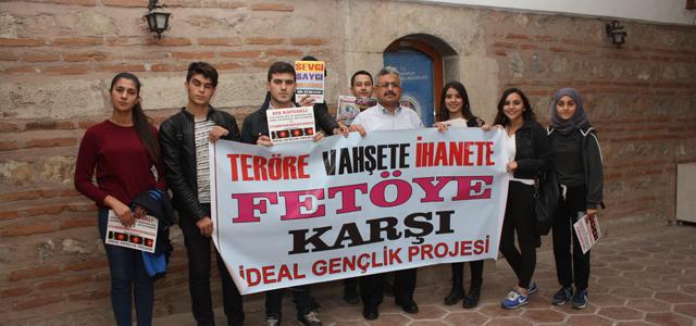 Tokat'ta ideal gençlik teröre savaş açtı