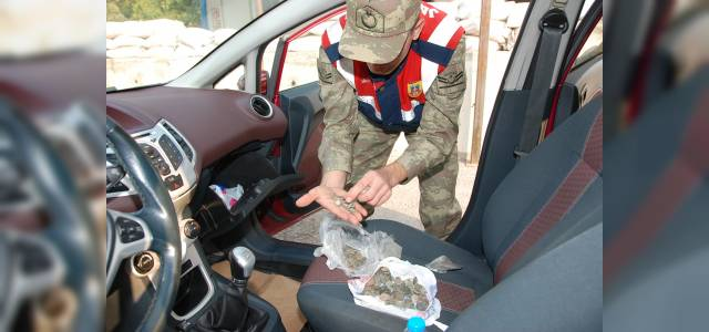Tokat'ta durdurulan araçtan 235 adet tarihi eser çıktı