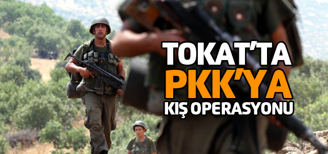 Tokat'ta jandarma ekipleri kırsalı tarıyor