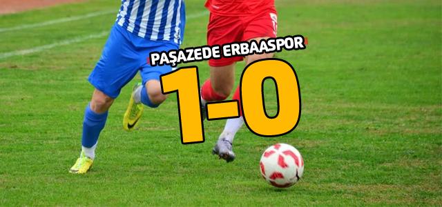 Erbaaspor Bayrampaşa'da 1-0 mağlup oldu.
