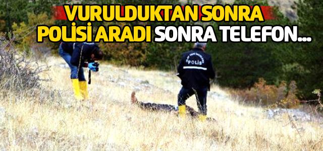 Koyun Otlatırken Vuruldu, Polisi Aradı, Cansız Bedenine Ulaşıldı