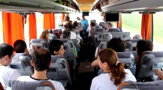 Tokat'ta izin belgesi olmayan yabancı uyruklu yolcuya bilet kesen firmalara ceza kesilecek