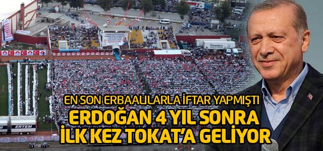 Cumhurbaşkanı Recep Tayyip Erdoğan 14 Ocak'ta Tokat'ta