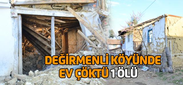 Erbaa'da çöken tavan tablasının altında kalan kadın öldü