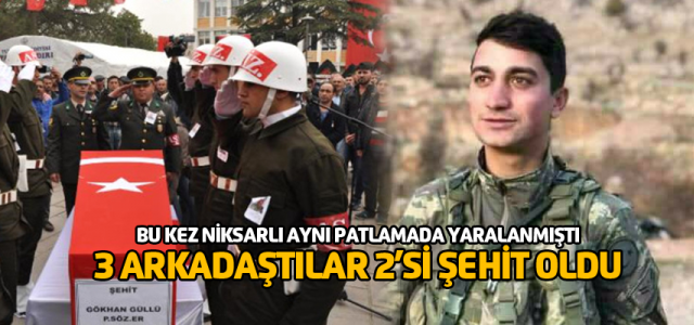Afrin'den Tokat'a 2'inci şehit