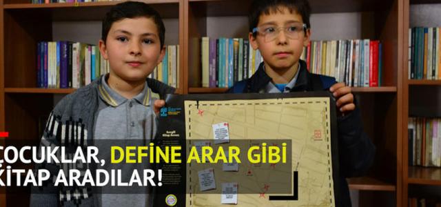 Define Arar Gibi, Saklanan Kitapları Aradılar