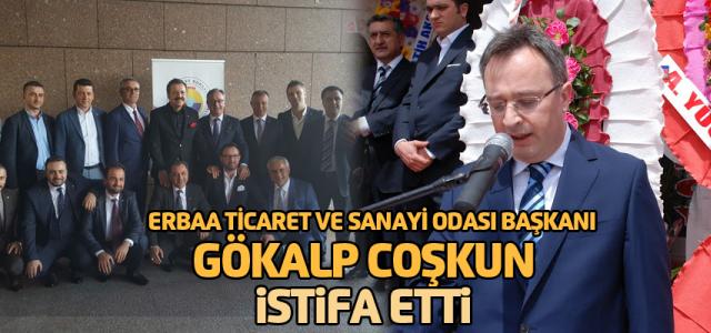 Erbaa Ticaret Odası Başkanı istifa etti