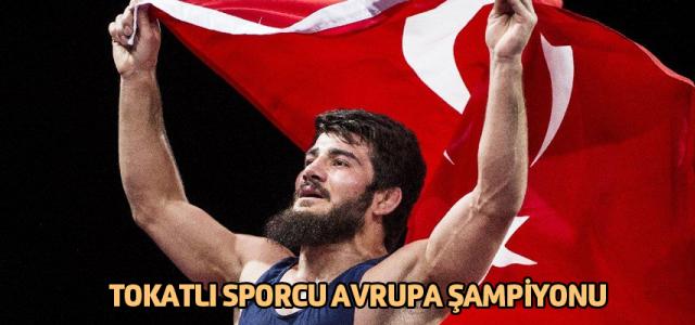 Tokatlı Soner Demirtaş Avrupa Şampiyonu