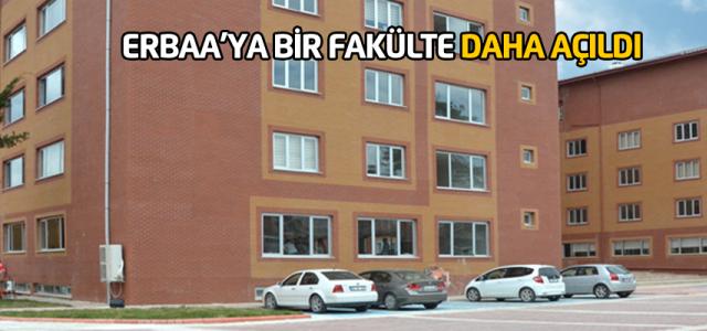 Erbaa'ya Sosyal ve Beşeri Bilimler Fakültesi