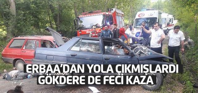 Tokat'ta Trafik Kazası: 1 Ölü, 12 Yaralı