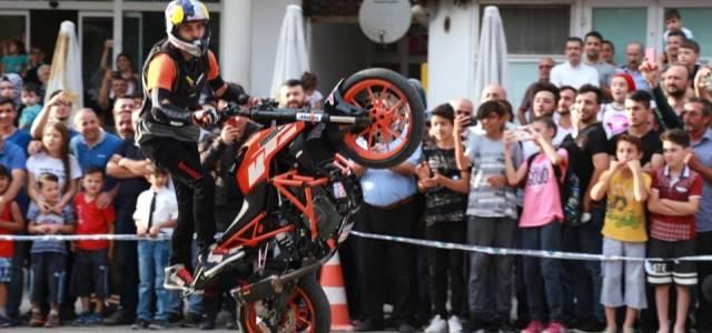 Niksar'da Motosiklet Festivali Nefesleri Kesti
