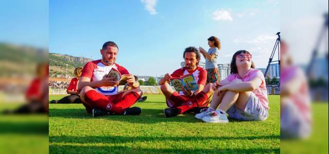 'Şöhretler Karması' Tokat Protokolüyle Gösteri Maçı Yaptı