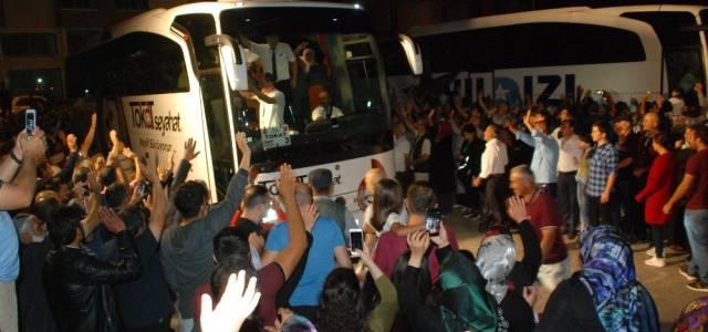 Tokat'ta 270 Hacı Adayı Kutsal Topraklara Uğurlandı