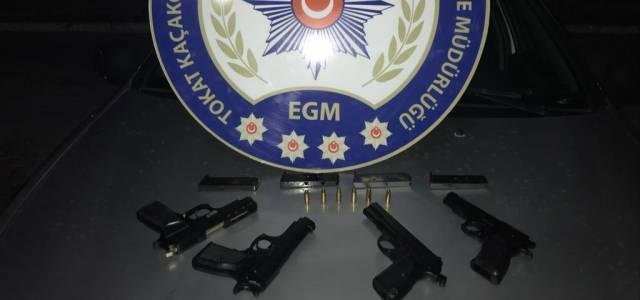 Tokat'ta ruhsatsız silah operasyonu