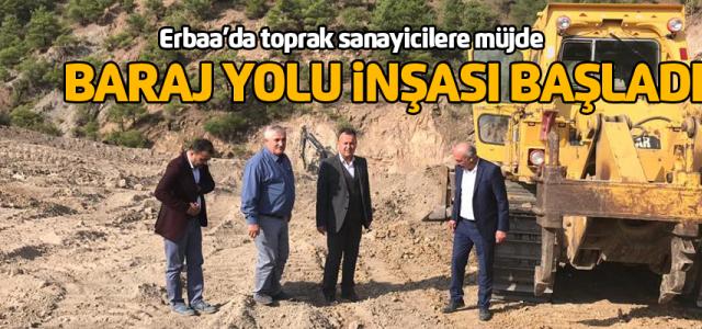 Erbaa'da toprak sanayicilere müjde