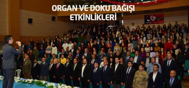 Erbaa'da organ ve doku bağışı haftası etkinlikleri