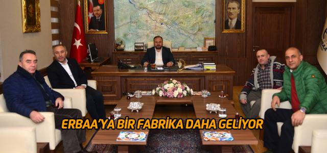 Başkan Yıldırım müjdeyi verdi Erbaa'ya bir tekstil fabrikası daha açılıyor