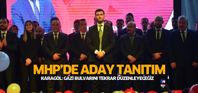 MHP Erbaa'da adaylarını tanıttı