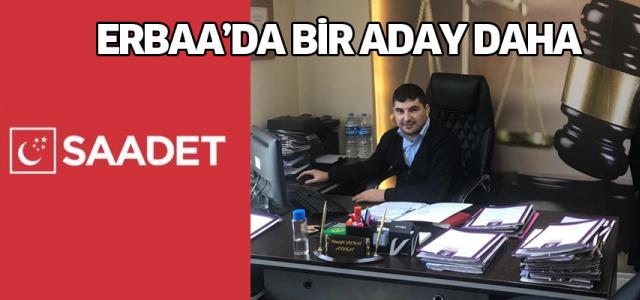Saadet Partisinin Erbaa Belediye Başkan adayı açıklandı