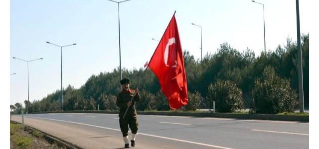 15'liler Dernek Başkanı İstanbul'dan Çanakkale'ye Yürüyor