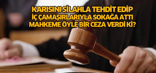 Karısına şiddet uygulayan şahsa Kadınlar Günü'nde unutamayacağı ceza