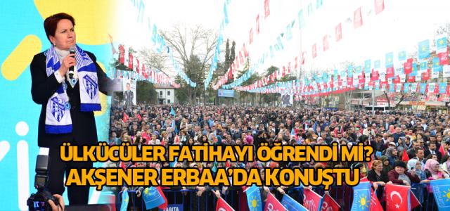 Meral Akşener: Türk milletine bir değil, bin Meral helal olsun