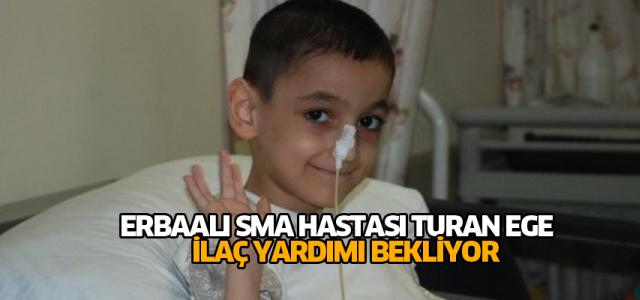 Sma Hastası Çocuk İlaç Yardımı Bekliyor