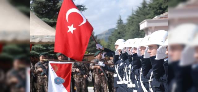 Tokat'ta Türk Polis Teşkilatı'nın 174'üncü yıl dönümü kutlamala