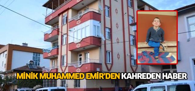3'üncü kat penceresinden düşen Muhammed Emir kurtarılamadı