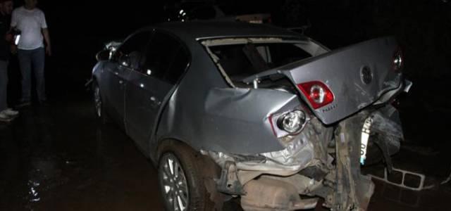 Erbaa'da zincirleme kaza: 4 yaralı
