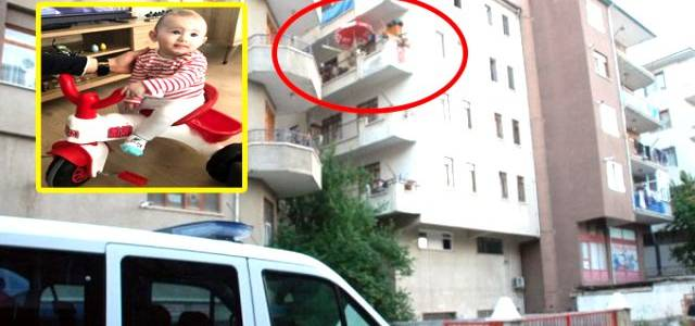 Balkondan düşen 2 yaşındaki minik Poyraz, hastanede öldü