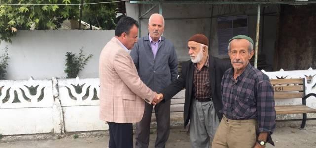 Kaymakam Karacan köy ziyaretlerinde