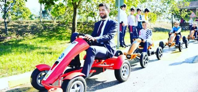 Başkan Karagöl trafik eğitim merkezinde incelemelerde bulundu
