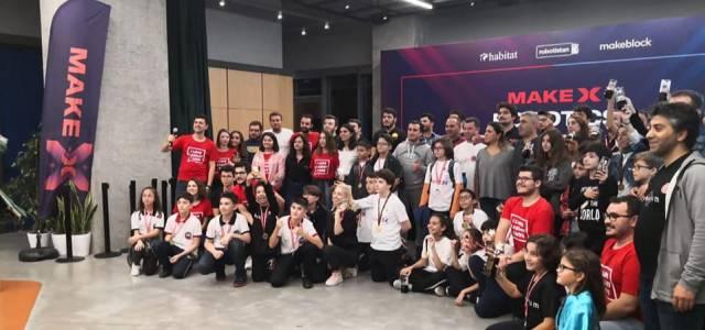 Erbaalı çocuklar MakeX robotik yarışmasında Türkiye 5'incisi oldu