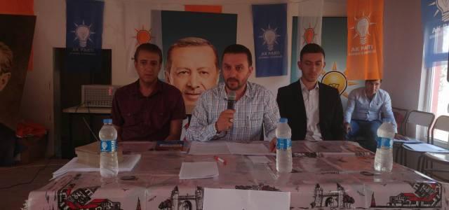 AK Parti Hasanşeyh beldesinde kongre yaptı