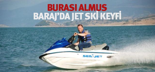 Baraj Gölünde Jet Ski Keyfi