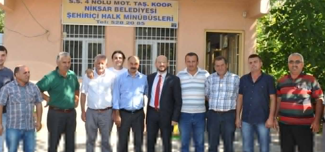 Başkan Özcan Minibüsçülerle Bir Araya Geldi