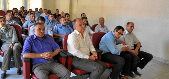 Belediye Personeline Kene Eğitimi