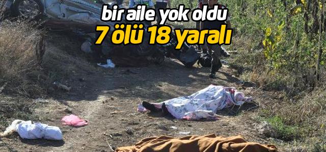 Bursa'da Kaza: 1'i Çocuk 7 Ölü, 18 Yaralı