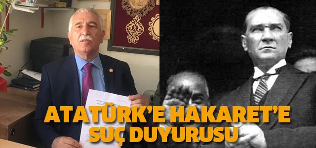 CHP Tokat Milletvekili Durmaz'dan suç duyurusu