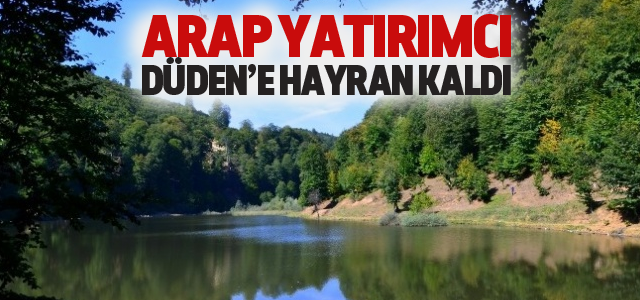 Erbaa Düden Gölü Turizme Kazandırılacak