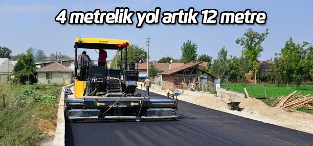 Erbaa'da asfalt çalışmaları