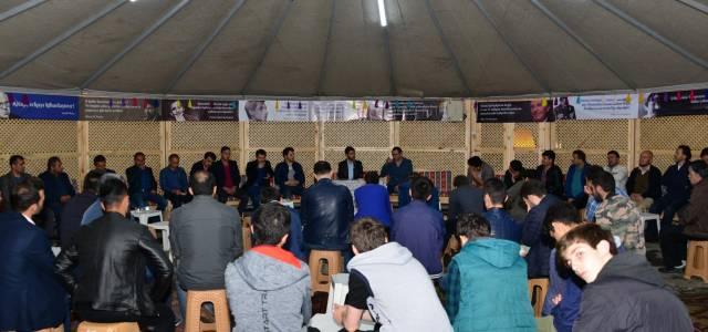 Erbaa'da çadır sohbetleri