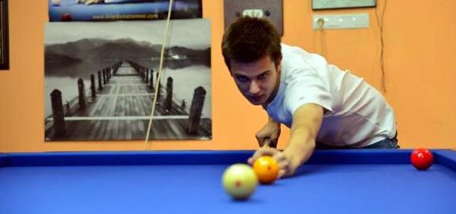 Erbaalı Genç Bilardocu, Türkiye'yi Dünya Şampiyonasında Temsil Edecek
