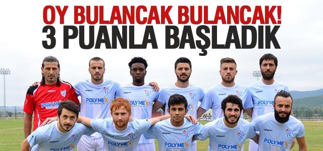 Erbaaspor 3 Puanla Başladı