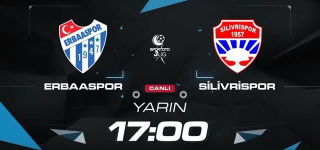 Erbaaspor, Silivrispor maçını A Spor'da yayınlanacak