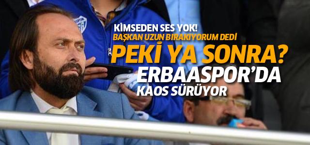 Erbaaspor'da şimdi ne olacak